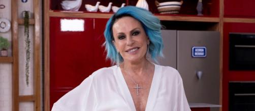 Ana Maria Braga recebeu as duas doses da vacina contra a Covid-19 (Reprodução/TV Globo)