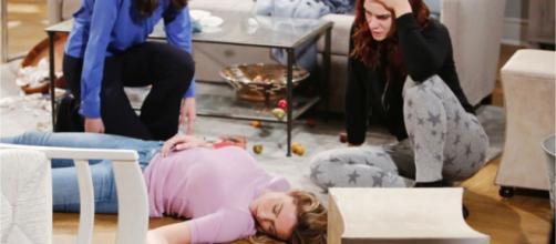 Beautiful, trame al 18 luglio: Flo rapita da Sally dopo aver saputo che non sta morendo.