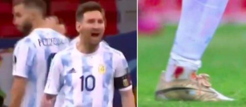 Leo Messi photo captures d'écran vidéos YouTube et Twitter