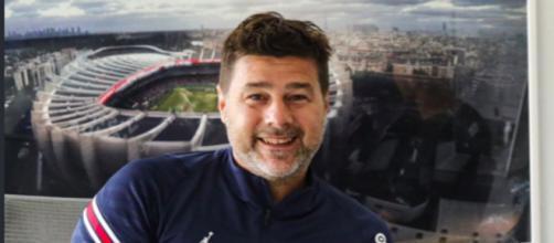 Mauricio Pochettino, entraîneur du PSG - Source : Photo capture d'écran Twitter PSG