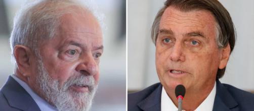Pesquisa mostra Lula com ampla vantagem sobre Bolsonaro (Fotomontagem/Ricardo Stuckert/Instituto Lula/Alan Santos/PR)