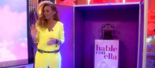 Rocío Carrasco presentó su sección propia en 'Sálvame'. (Telecinco)