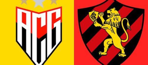 Saiba onde assistir Atlético GO x Sport ao vivo (Arte/Eduardo Gouvea)