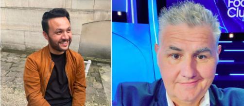 Karim Bennani et Pierre Ménès - Source : capture d'écran, Instagram