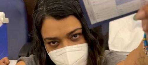 Preta Gil é vacinada (Reprodução/Instagram/@pretagil)