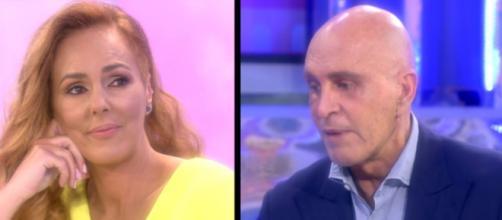 Rocío Carrasco se tuvo que defender de las replicas de Kiko Matamoros por su actitud hacía su hija (Telecinco)