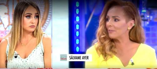 Rocío Flores ante las afirmaciones de su madre sobre Olga Moreno. (Telecinco)
