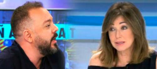 """Antonio Maestre fue despedido hace un año de """"El programa de Ana Rosa"""" (Twitter, telecincoes))"""