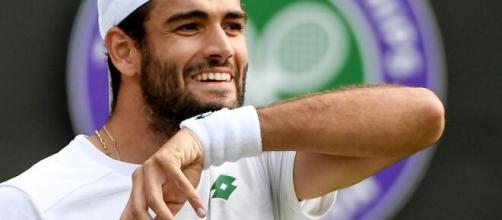 Matteo Berrettini in finale a Wimbledon.