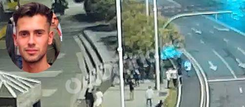 Se difunden imágenes del momento del asesinato de Samuel (RRSS y @rtve)