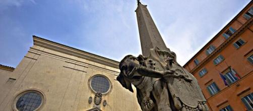 Gian Lorenzo Bernini's Elephant with obelisk (Image source: Fotopath/Flickr)