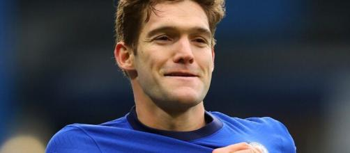 Marcos Alonso, piacerebbe all'Inter.