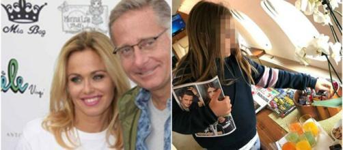 Paolo Bonolis, la moglie pubblica la foto della figlia malata
