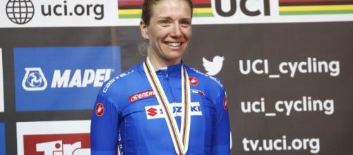 Tatiana Guderzo, quattro medaglie tra Mondiali e Olimpiadi.