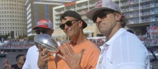 Brady recently won his 7th Super Bowl ring (Image source: Tampa Bay Buccaneers/YouTube)
