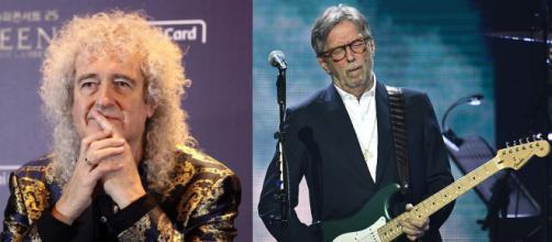 Concerti e Green Pass, Brian May non è d'accordo con Eric Clapton