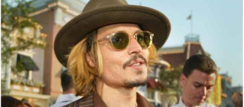 """El actor Johnny Depp en un acto promocional para la popular saga """"Piratas del Caribe"""" (vía Flickr, @Andy Templeton)"""
