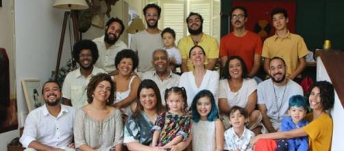 Gilberto Gil reúne família em Dia dos Pais (Reprodução/Instagram/@gilbertogil)
