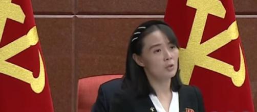 Kim Yo-jong of North Korea warns S.Korea-US joint military drill will cloud inter-Korean relations (Image source: North Korwa Now/YouTube)