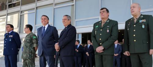 Alto Comando está insatisfeito com o Ministro Braga Netto (Marcos Corrêa/PR)
