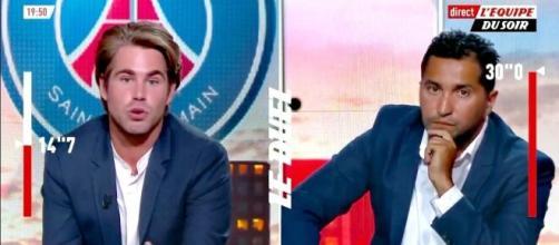 Nabil Djellit détruit Giovanni Castaldi sur le cas Messi (Source : L'Equipe du Soir)