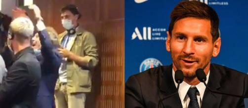 Omar da Fonseca en feu en conférence de presse de Messi. (crédit Twitter)