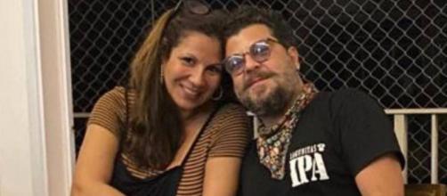 Atriz Carla Daniel faz post sobre morte do namorado (Reprodução/Instagram/@carladaniel)