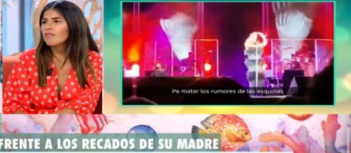 Isa Pantoja habló de su madre en el plató de 'El programa del verano' (Telecinco)