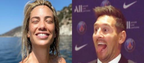 Photo captures d'écran Instagram Bonnet et Messi