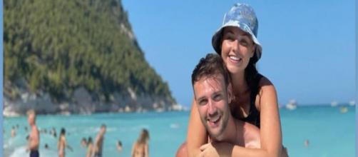 Rosalinda Cannavò e Andrea Zenga: vacanze al mare.