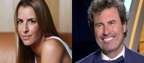 Vanessa Le Moigne prête à se bagarrer pour Omar Da Fonseca (montage photo et capture Youtube)