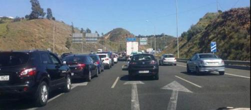 Dos radares están a diez kilómetros entre si en la carretera A-7. (Twitter @La_maquinita)