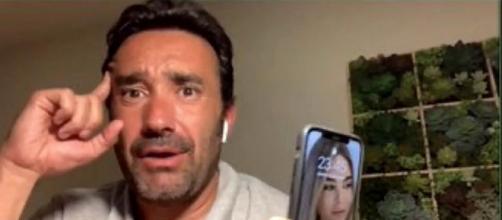 El descuido de Juanma Castaño que delató su relación con Helena Condis. (Captura Twitch)