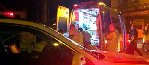 El joven tuvo que ser trasladado al hospital tras la agresión colectiva (Ayuntamiento de Madrid)