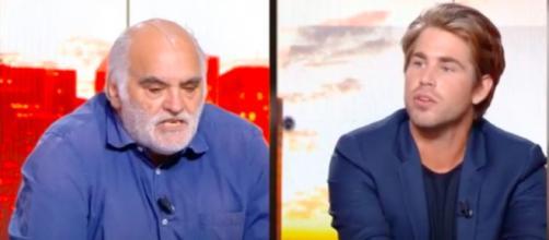 Gilles Favard et Castaldi se clashent en direct à la télévision - Photo capture d'écran vidéo Youtube