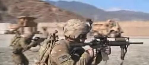 U.S. troops sent in as Taliban advances in Afghanistan (Image source: FOX 5 Washington DC/YouTube)