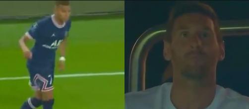 Messi impressionné par le talent de Mbappé (crédit Twitter)