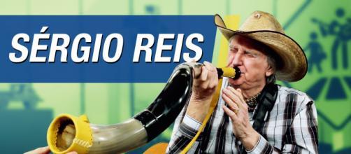 Sérgio Reis promete chamar o povo para ato em defesa de Bolsonaro (Arquivo Blasting News)