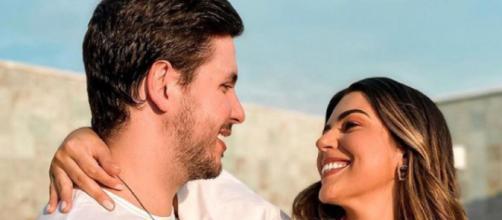 Vivian Amorim e Leo Hirschmann esperam primeiro filho (Foto: Reprodução/Instagram/@amorimvivian)