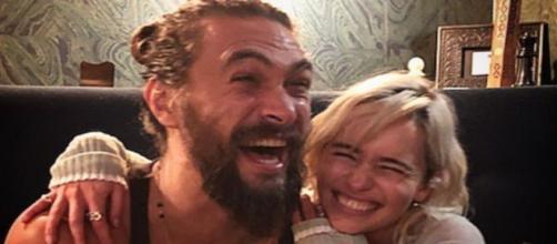 La pareja está unida por una bonita amistad desde que rodaron juntos 'Juego de tronos' - Instagram (@emilia_clarke)