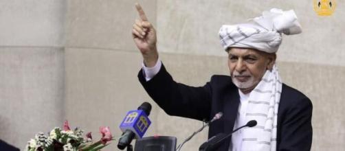 Presidente do Afeganistão, Ashraf Ghani fugiu do país (Reprodução/Facebook)