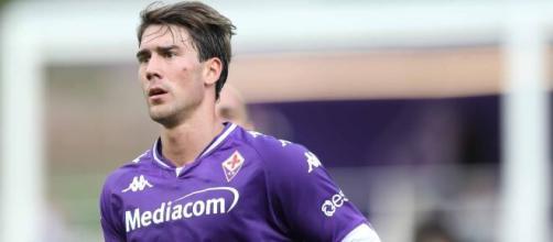 Fiorentina, sarebbe vicina la cessione di Vlahovic.