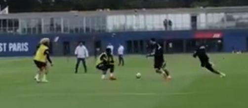 La connexion Mbappé / Messi fait déjà rêver les fans (Credit : capture Youtube via PSG TV)
