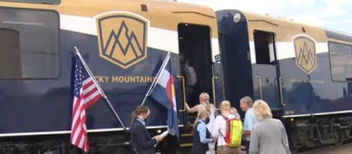 Luxury train trips between Denver and Moab begin on the Rocky Mountaineer of Canada (Image source: CBS Denver/YouTube)