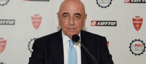 Adriano Galliani, dirigente del Monza.