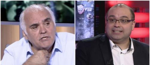 Gilles Favard se clashe avec un internaute sur l'affaire Yoann Riou (montage photo et capture Youtube)