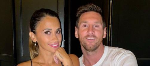 Lionel Messi et sa femme Antonela s'accordent une pause loin de la pression (Source Instagram Antonela Roccuzzo)