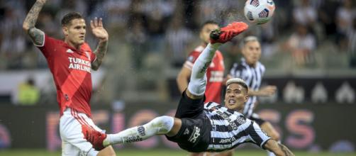 Le 'golazo' de Matias Zaracho pour l'Atletico Mineiro (photo officielle de la CONMEBOL Libertadores via Youtube - capture)