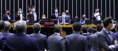 PEC da reforma eleitoral foi aprovada nesta terça-feira (17) (Cleia Viana/Câmara dos Deputados)