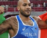 Marcell Jacobs, campione olimpico dei 100 metri.